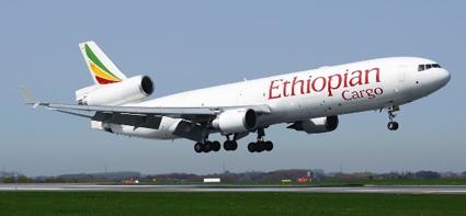 Ethiopian Airlines Cargo Plane