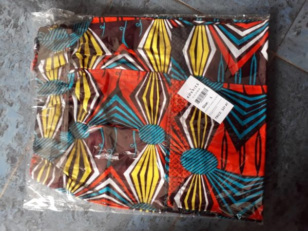 Kokxies Ltd: Afriprint Unisex Shorts