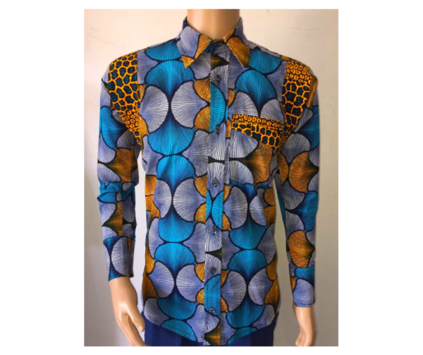 Kokxies Ltd.: Men's Long Sleeve African Print Shirt