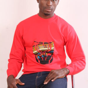 Afrikoncept Red Wakanda Sweater