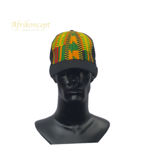 Afrikoncept 'Campanula' Yellow and Green Cap