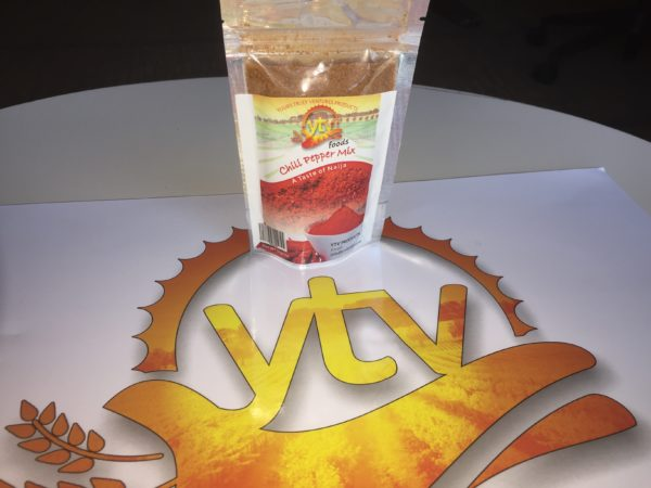 Yours Truly Ventures: 50g Chili Pepper Mix