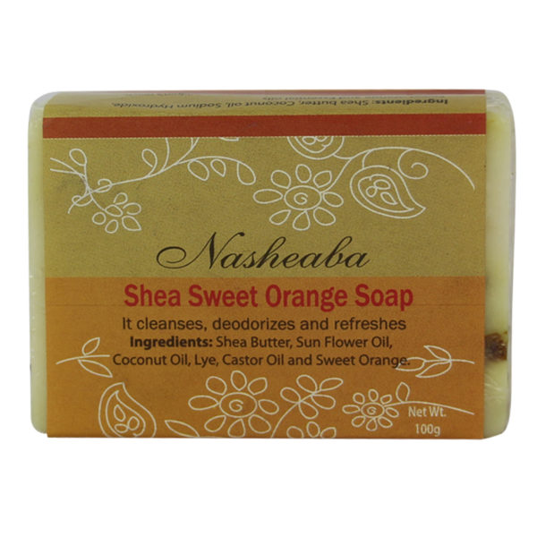 Ele Agbe Company: Shea Sweet Orange Ginger Soap