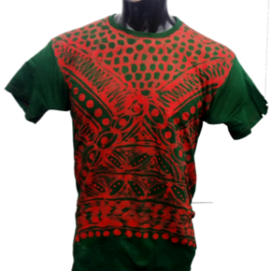Afrikoncept Red and Green T-Shirt